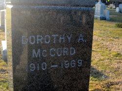 Dorothy <i>Coffin</i> McCord