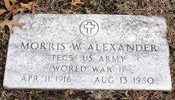 Morris W. Alexander