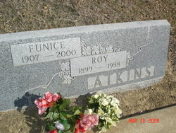Eunice Mable <i>McCraw</i> Atkins