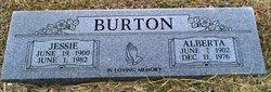 Alberta Burton