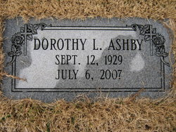 Dorothy L Ashby