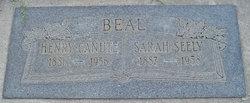 Sarah <i>Seely</i> Beal