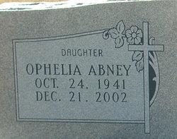 Ophelia <i>McCain</i> Abney