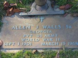 Pvt Allen Joseph Walls, Sr