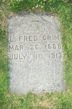 Lemuel Fredrick Crim