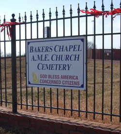 Bakers Chapel AME Church Cemetery