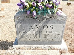 Emily C. <i>Mayes</i> Amos