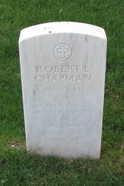 Cpl Robert Lee Chapman