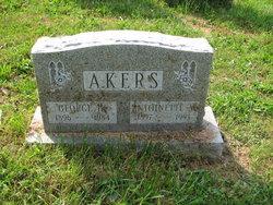 Antoinette M <i>Musser</i> Akers