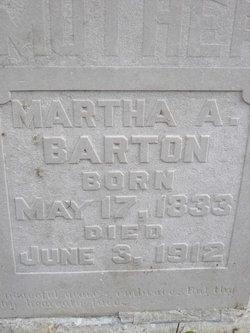 Martha A <i>Mauney</i> Barton