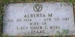 Alberta M <i>Breakville</i> Boes