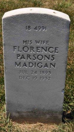 Florence <i>Parsons</i> Madigan