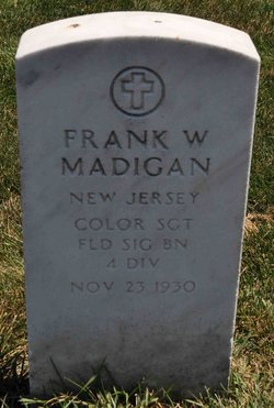 Francis William Frank Madigan
