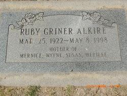 Ruby <i>Griner</i> Alkire