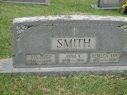 Mary Anna Anna <i>Knott</i> Smith