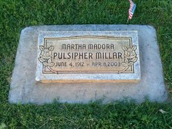 Martha Madora <i>Pulsipher</i> Millar