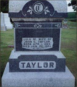 L Mae Lulu <i>Aten</i> Taylor
