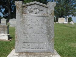 Mattie J <i>Rose</i> Gunn
