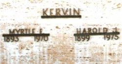 Myrtle Estell <i>Gischel</i> Kervin