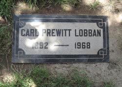 Carl Prewitt Lobban