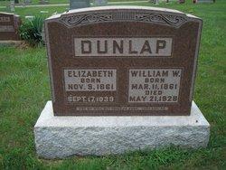 Sarah Elizabeth Lizzie <i>Gilmore</i> Dunlap