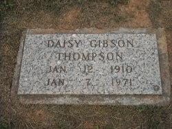 Daisy <i>Gibson</i> Thompson