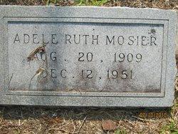 Adele Ruth Dell <i>Grimes</i> Mosier
