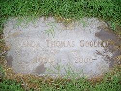 Wanda <i>Thomas</i> Goodnow