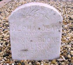 Alpha Jean Allison