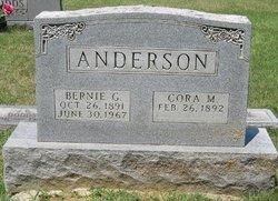 Cora M <i>Tolbert</i> Anderson