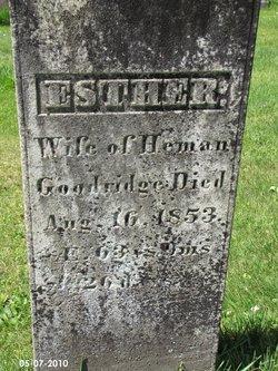 Esther <i>Dickinson</i> Goodridge