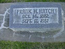 Frank Holt Hatch