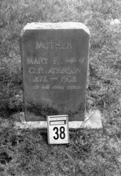 Mary Elizabeth <i>Massingill</i> Atkinson