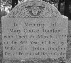 Mary <i>Cooke</i> Tomson