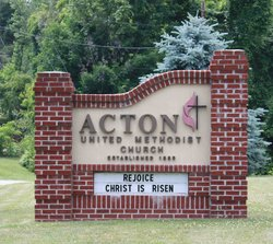 Acton United Methodist Church Cemetery