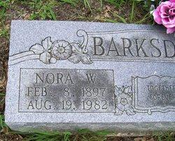 Nora <i>Wilcox</i> Barksdale