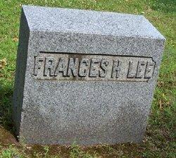 Frances H <i>Church</i> Lee