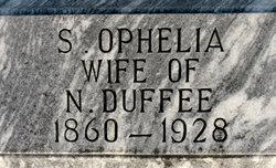 Sarah Ophelia <i>McDuffie</i> Duffee