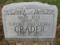Infant (son) Crader