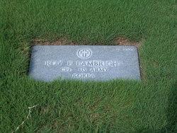 Roy Edward Lambright