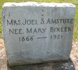 Mary D. <i>Bixler</i> Amstutz