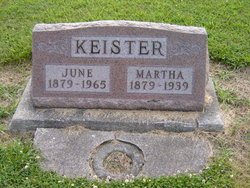 Martha <i>Surber</i> Keister