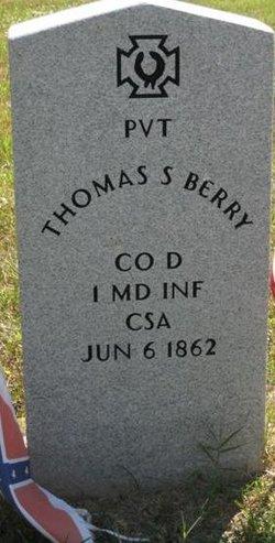 Pvt Thomas S. Berry