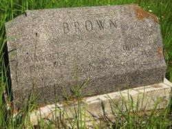 Margaret May <i>Ashley</i> Brown