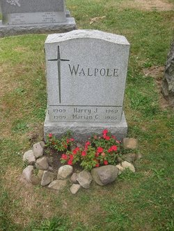 Mrs Marian Caroline <i>Christ</i> Walpole