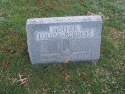 Louisa Martha <i>Dyer</i> Borders