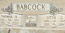 Littie Catherine <i>Barker</i> Babcock