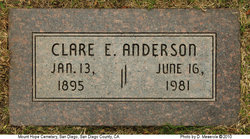 Clare Elizabeth <i>Harris</i> Anderson