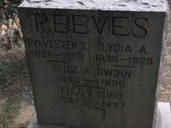 Alice Ann <i>Reeves</i> Gwinn