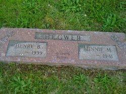 Minnie Mae <i>Shore</i> Hegwer